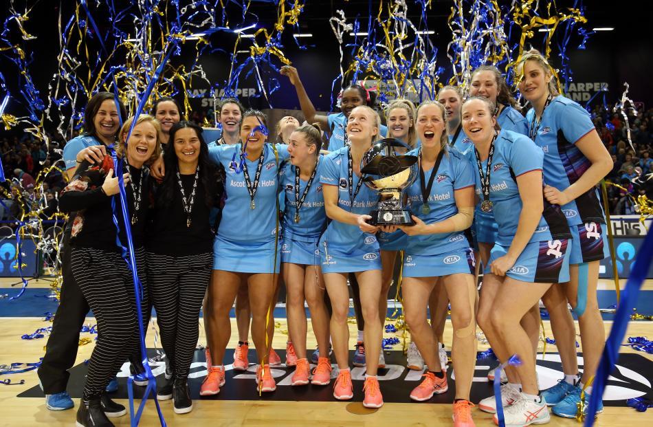 Last seasons champions: Southern Steel