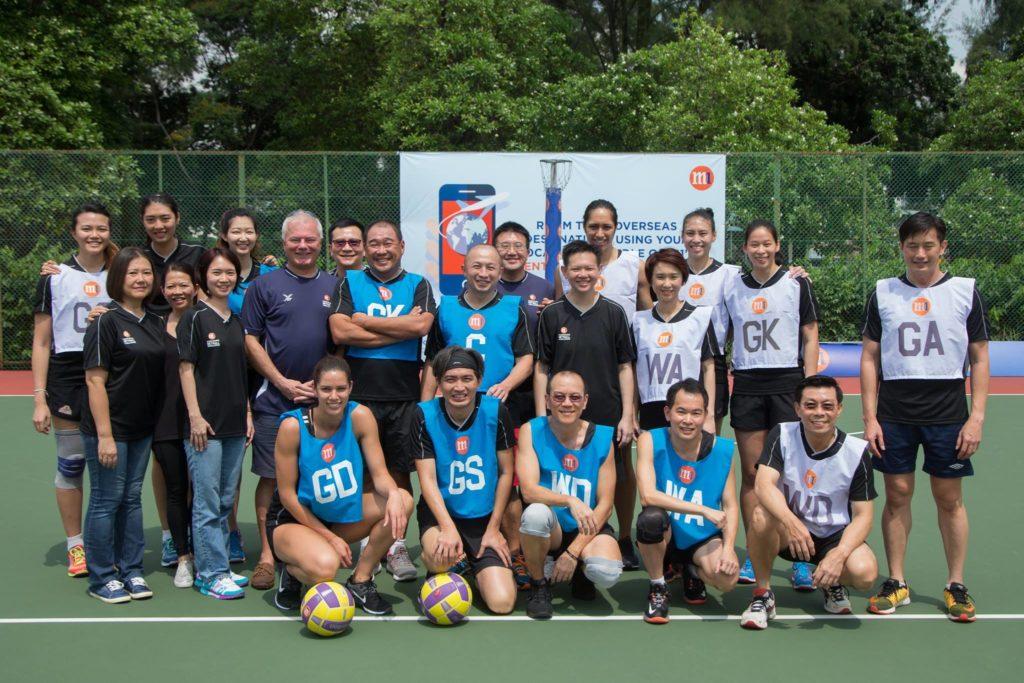 Photo credit - Netball Singapore