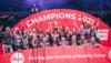 Loughborough Lightning win their first ever Vitality Netball Superleague final