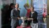 WORLD NETBALL PRESIDENT LIZ NICHOLL CBE AWARDED ARTHUR BELL TROPHY